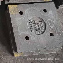 56-62HRC AS2027 High Wear Resistance Chrome Wear Plate Impact Crusher Wear Liner