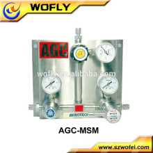 Reducing regulator for lpg pipe sanitary back pressure regulator valve
