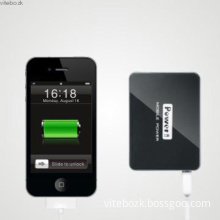 Square power bank 4500mah with LED digital display -best gift for boy