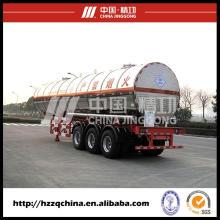 Réservoir de LPG Semi remorque de distribution GPL gaz
