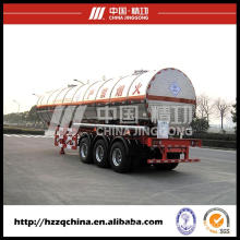 LPG Tank Semi Trailer for Delivering LPG Gas