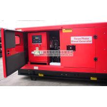 Guangzhou 10kVA / 8kw Wasserkühlung AC 3 Phase Diesel Schallschutz Generator