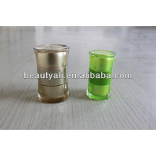 Round Waist Acrylic Jar Cosmetic Packaging 20ml 50ml