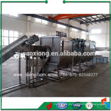 China Tipo espiral Blanching Machine Equipo
