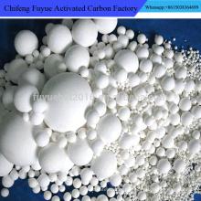 Pequena impureza Qualidade estável Bola de moagem de cerâmica alúmina