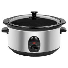 Cocina lenta eléctrica de la forma oval 3.5L 200W con UL