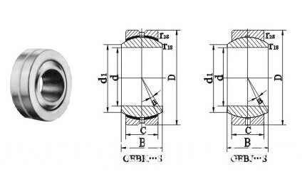 Radial Spherical Plain Bearings GEBK-S Series