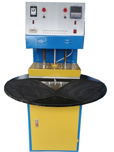 Three Stations Blister Sealing Machine