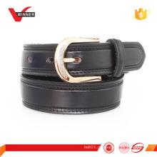 Cinturão de couro feminino de camurça feminina