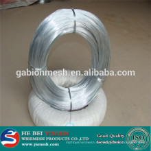 Die echte Fabrik in China Electro Galvanisierter Eisen Draht / verzinkter Eisen Draht / schwarz Eisen Draht