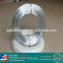 La fábrica real en China Electro galvanizado de alambre de hierro / alambre de hierro galvanizado / alambre de hierro negro