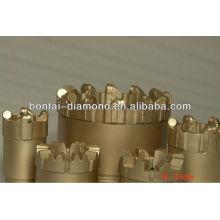 Broca de núcleo de perforación PCD de oro