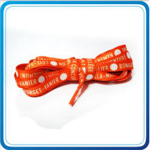 Custom Sublimation Printed Shoelace with Plastic Clip End for Gift