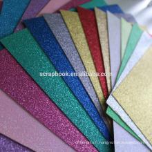 Carte holographique de texture épaisse de haute qualité avec toutes les couleurs de sortes