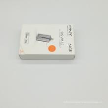 Carton ondulé recyclé de boîtes postales cruciformes d'OEM