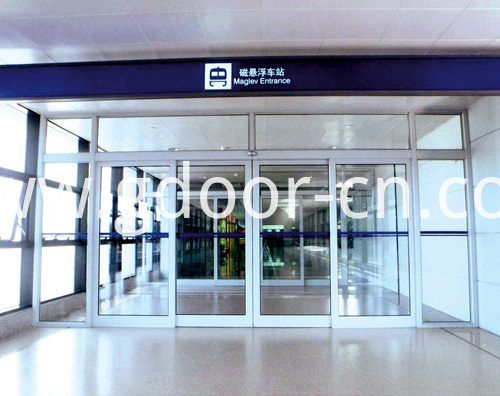 Automatic Sliding Doors for International Airports