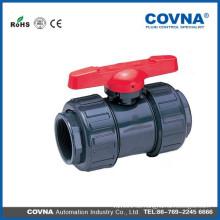 Bewässerungs-Kunststoff-UPVC-Kugelhahn