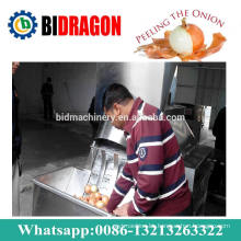 1000kg Per Hour Onion Peeling and Cutting Machine