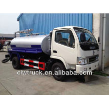 Factory supply small fecal tanker truck