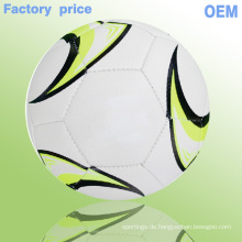 2015 neue Design coole Fußball Produkte billig benutzerdefinierte Fußbälle Fußball Ball