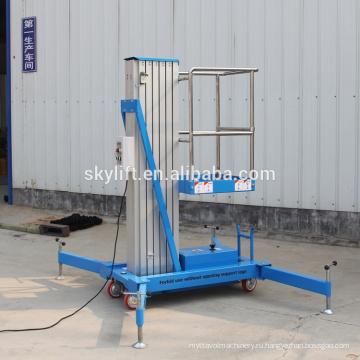 электрическая алюминиевая лестница 6м