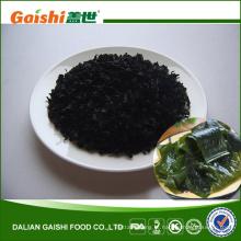 Alga verde comestível fresca secada