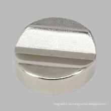 Runder kleiner Neodym-Magnet Wire Cutted Unregelmäßiger NdFeB N45 Magnet