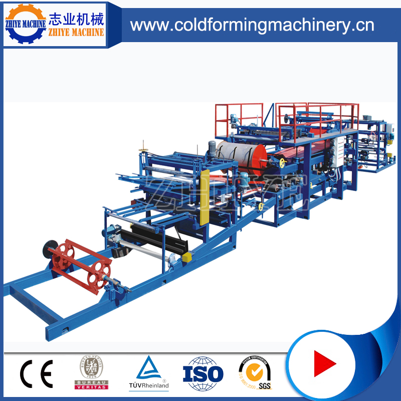 Roll Forming Machinery For Sandwich Panel