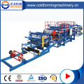 Metal Steel Sandwich Roof Tiles Production Line