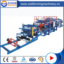 Advanced eps sandwich wall panel roll forming machine