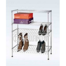 Adjustable 4 Layers Special Design Steel Shoe Rack (CJ-C1202)