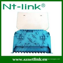 Bac à épissures en fibre optique à couleur bleue