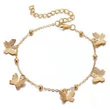 Amazon Jewelry New Retro Fashion Temperament Butterfly Ornament Hollow Pendant Bracelets