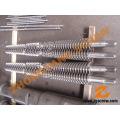 Vis et baril pour tuyaux & tubes profilés