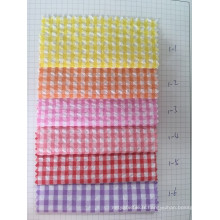 Tissu à carreaux 100% coton Y / D (ART NO UYDFY1--1-6)