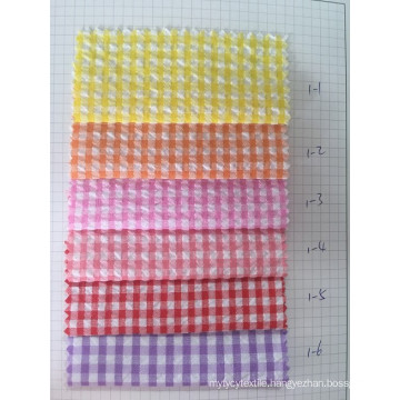 100% Cotton Y/D Check Fabric (ART NO. UYDFY1--1-6)