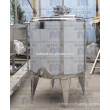 El tanque de mezcla encamisado doble / solo del acero inoxidable 304 / 316L de encargo con el agitador