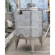 Custom Stainless Steel 304/ 316L Double/ Single Jacketed Mixing Tank with Agitator