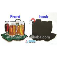 Фабрика цена оптового изготовленного на заказ магнита холодильника пива для выдвиженческого настоящего / выдвиженческого подарка