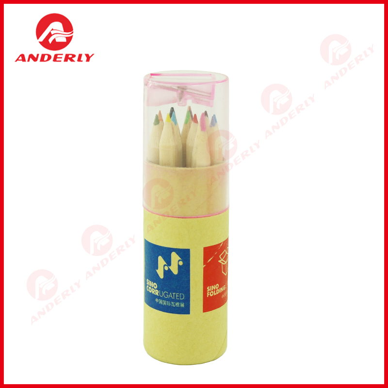 Custom Stationery Packaging Recylcable Paper Tube