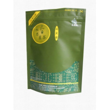 Matte Stand Up Tea Bag avec fermeture à glissière