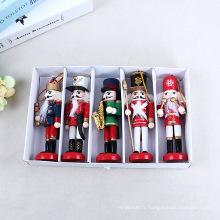 FQ tout nouveau design Noël en bois jouet soldat casse-noisette
