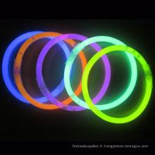 bracelet lueur dans slap noir