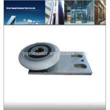 Schindler Aufzug QKS9 Türbügel gerade, Aufzugstürwalze