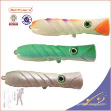 PPL012 дешевые рыболовные снасти искусственные приманки рыболовные приманки Поппер для морской