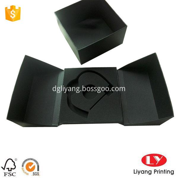 Unique gift box black