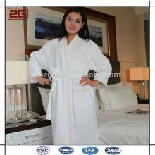 Robe de bain à la mode à la mode à col contrasté