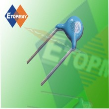 Disco de cerámica de alto voltaje condensador 1kv Topmay