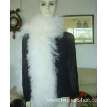 Factory supplied for Red Fur Scarf Wholesale Keep Warm Brown Knitted Fur Shawls supply to Burkina Faso Manufacturers