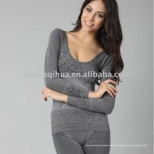 Nouveau style sans couture femmes longues johns